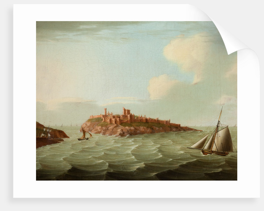 Peel Castle by Anonymous