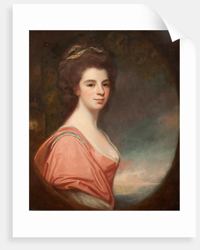 Mrs Christian Cunninghame by George Romney