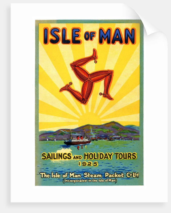 Sailings & Holiday Tours Season 1925 by Isle of Man Steam Packet Co. Ltd.