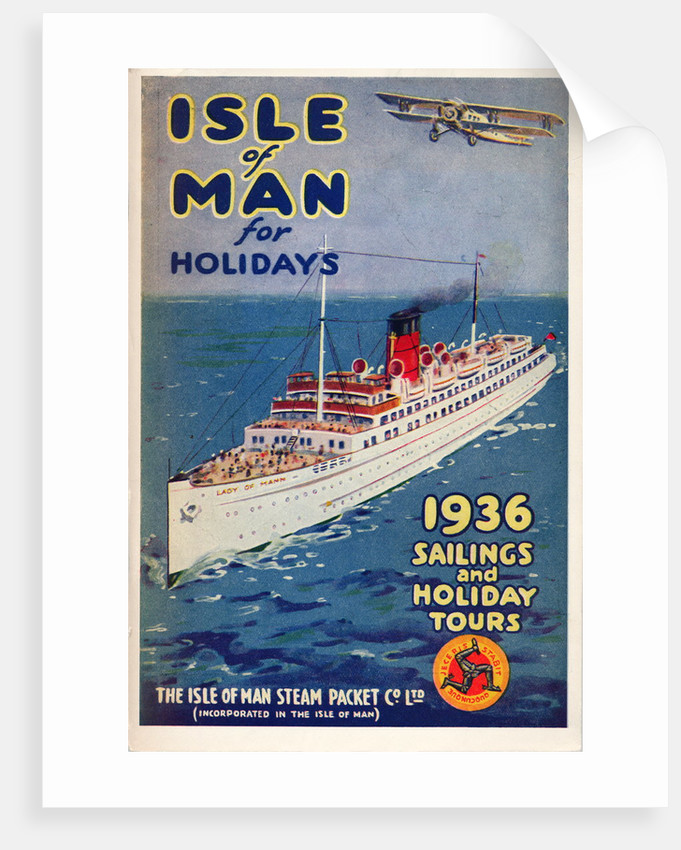 Sailings & Holiday Tours Season 1936 by Isle of Man Steam Packet Co. Ltd.