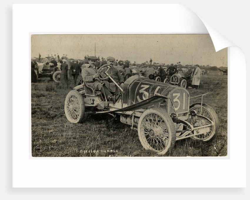 No.31 Beeston-Humber, 1908 Tourist Trophy motorcar race by Anonymous