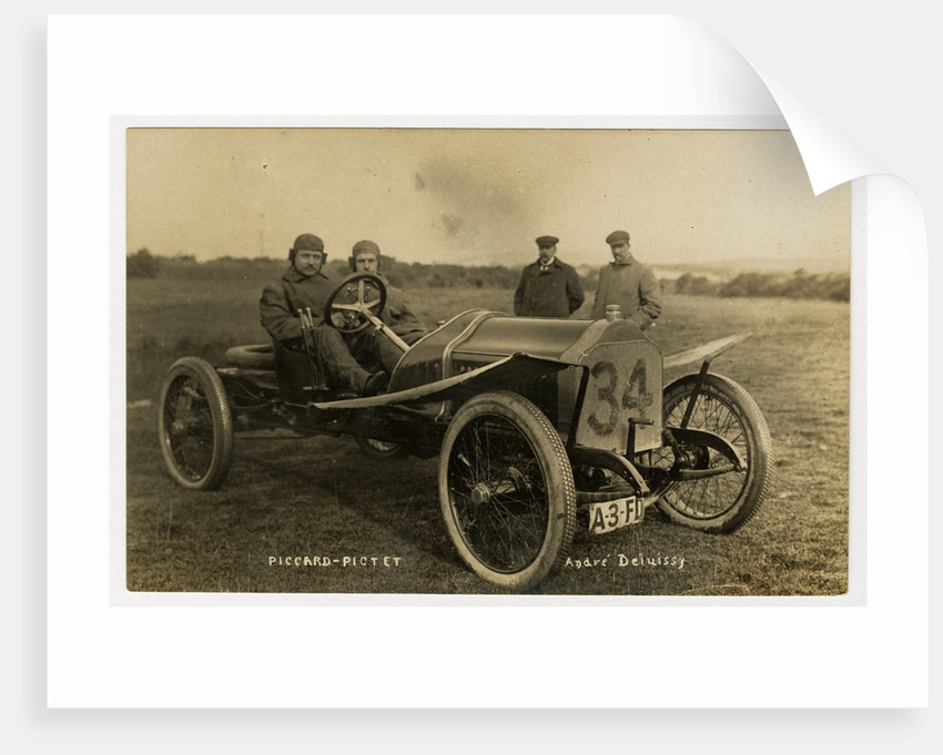 1908 Tourist Trophy motorcar race by Anonymous