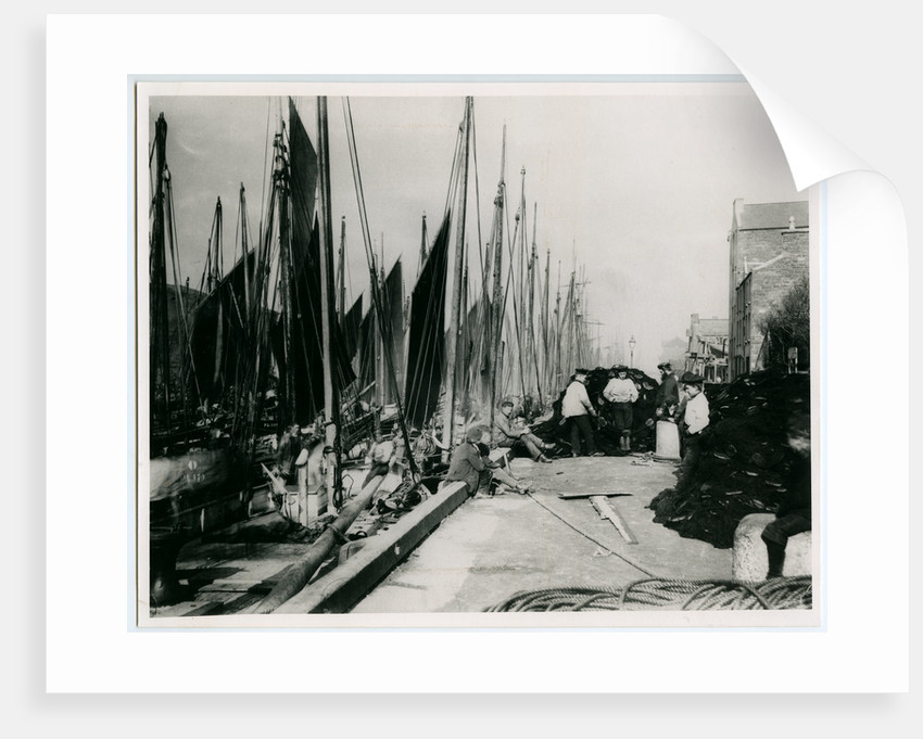 Peel harbour by George Bellett Cowen