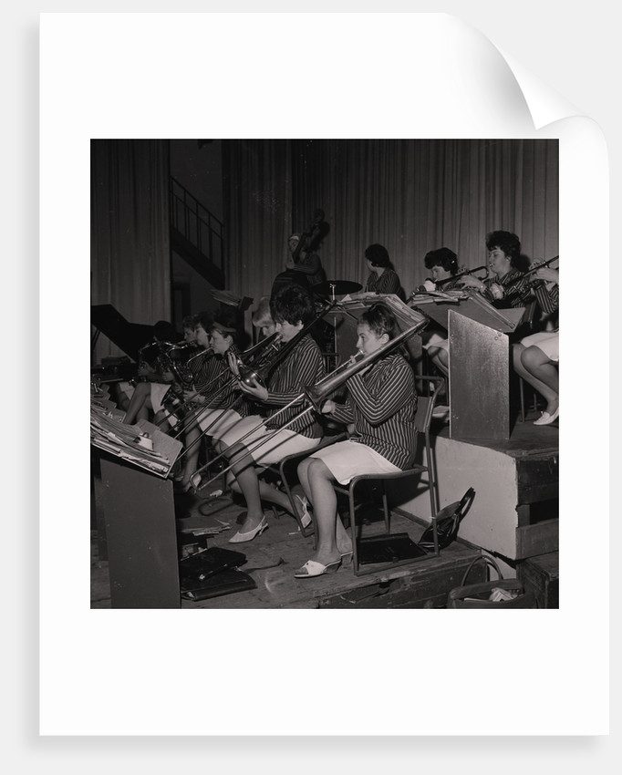 Ivy Benson and her All Girl Band by Manx Press Pictures