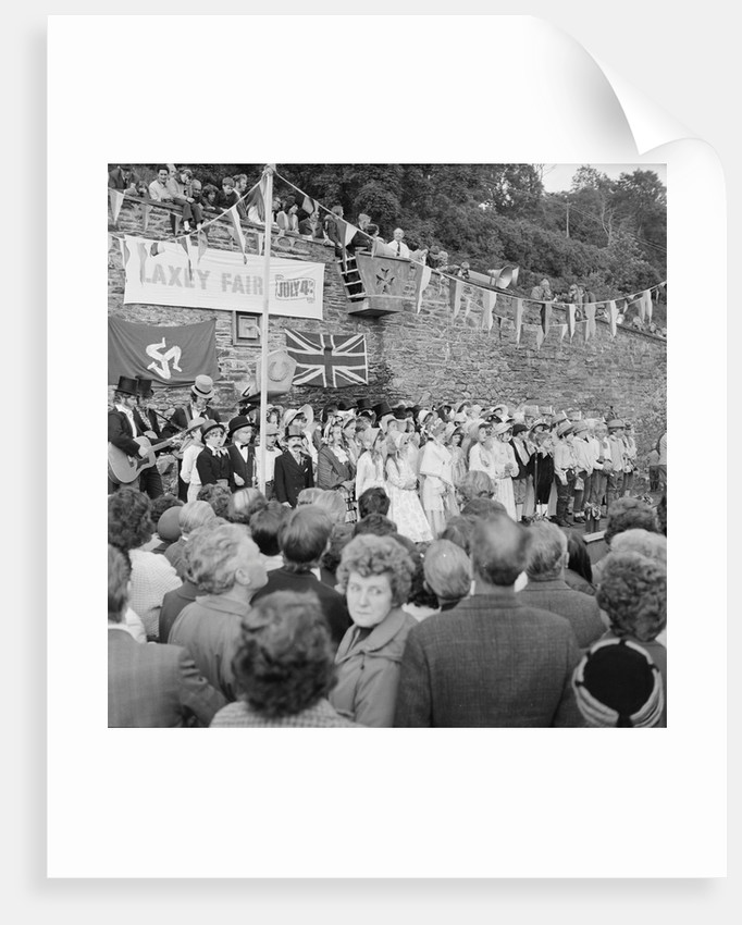 Laxey Fair by Manx Press Pictures