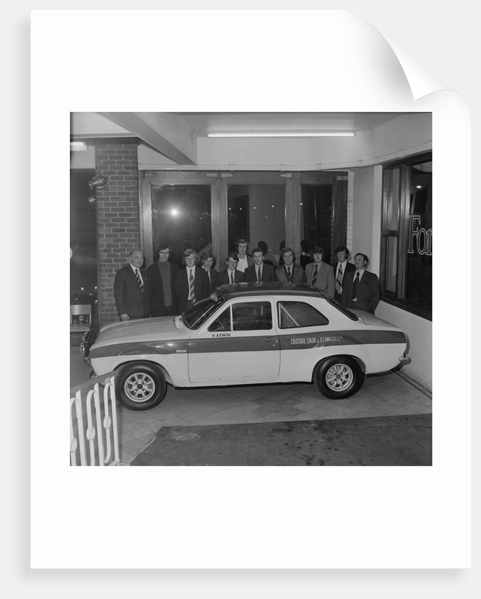 Ford Escort 1600 Twin Cam motorcar by Manx Press Pictures