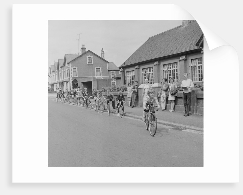 Cycle proficiency test by Manx Press Pictures
