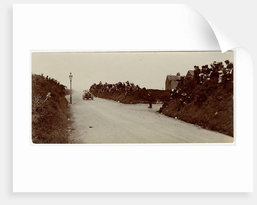 W.T. Clifford Earp in a Napier, 1905 Gordon Bennnett Trials by Anonymous