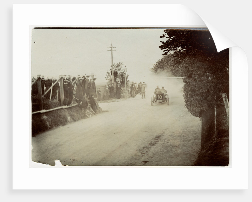 Sid Girling in a Siddeley, 1905 Gordon Bennett Trials by Anonymous