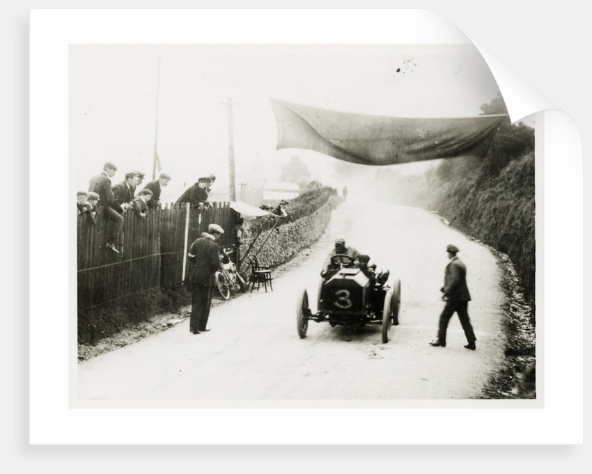 John Hargreaves in a Napier, 1904 Gordon Bennett Trials by Anonymous