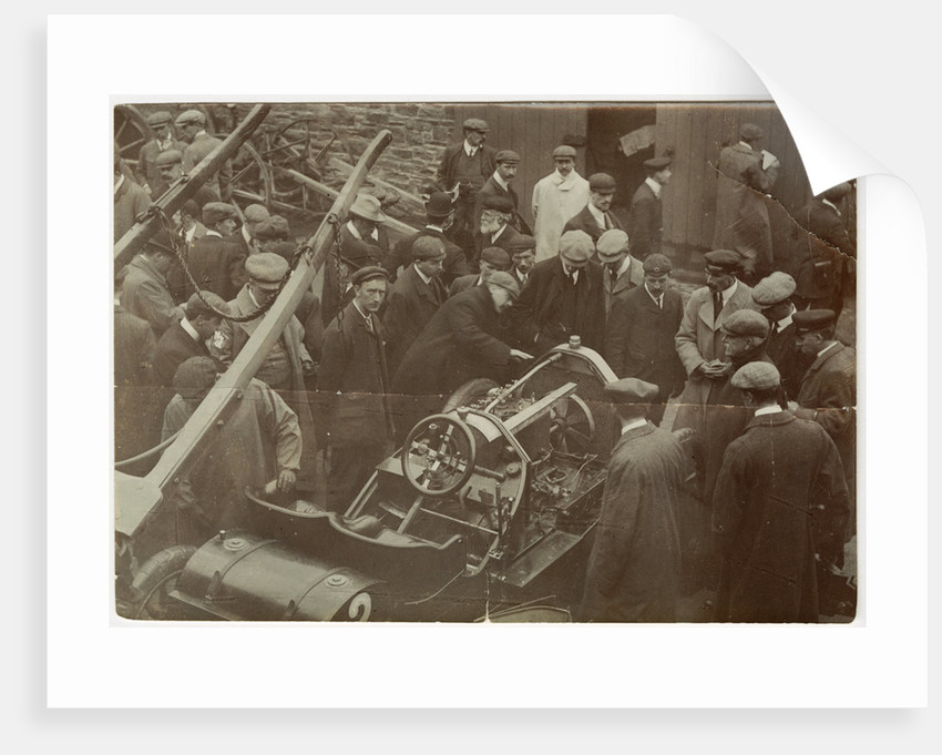 Star racer No. 2 during technical inspection on 29 May 1905 by Anonymous