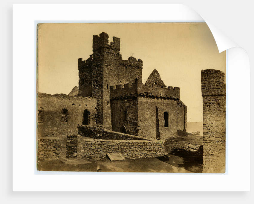 St German's Cathedral, Peel Castle by Anonymous