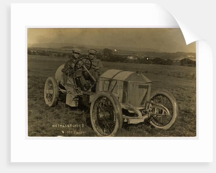 No.7 Metallurcique, 1908 Tourist Trophy motorcar race by Anonymous