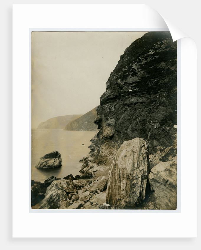 Last nesting place of the golden eagle, near Fleshwick by George Bellett Cowen