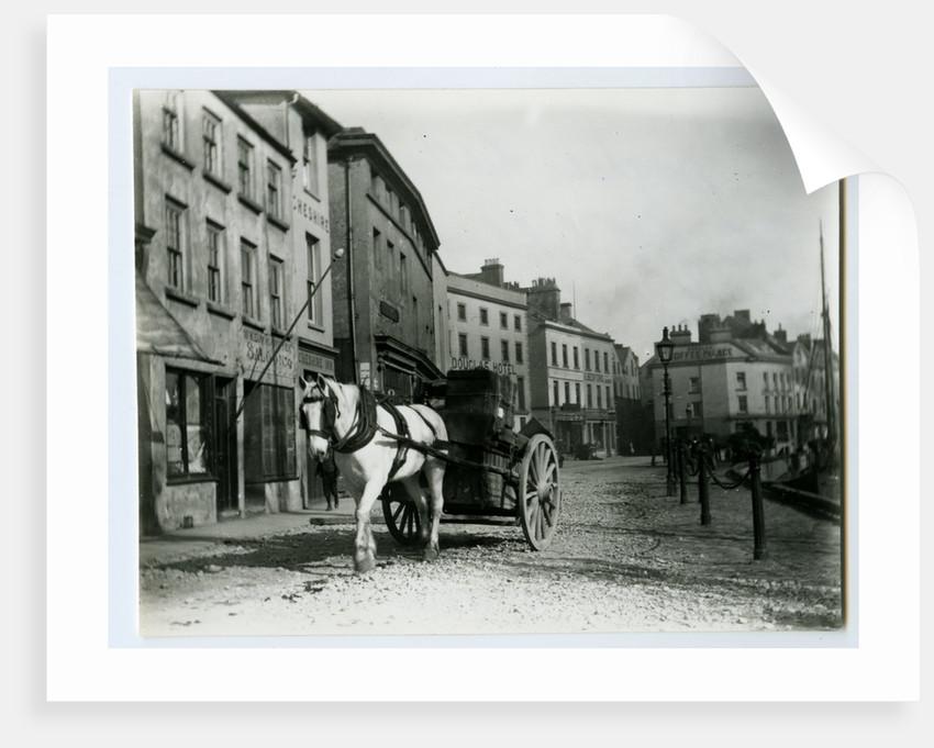 North Quay, Douglas by John Miller Nicholson