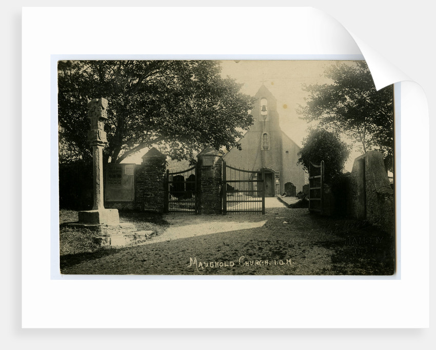 Maughold Church by Thomas Horsfell Midwood