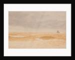 A wintery sea, Douglas by John Miller Nicholson