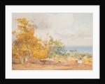 Harvest scene, Governors Road, Onchan by John Miller Nicholson