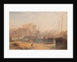 Castletown Harbour and Castle Rushen by John Miller Nicholson