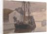 Schooner, Castletown Harbour by Archibald Knox