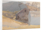 Watermill with Hills Beyond by Archibald Knox