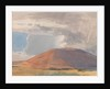 Greeba Mountain: Sunlight and Rain Storm by Archibald Knox