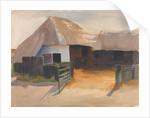 Gateway to a farmyard by Archibald Knox