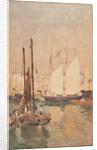 Fishing boats by John Miller Nicholson