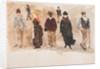 Standing figures by John Miller Nicholson