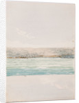 Turquoise sea and wet beach by John Miller Nicholson