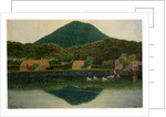 Kneale's Mill Pond and Buildings, Sky Hill by Robert Evans Creer