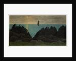 Black Rocks, Scarlett by Robert Evans Creer