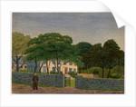 Berrag House, John Corlett Junior Standing by Robert Evans Creer