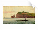 Calf of Man and Chicken Rock Lighthouses by Robert Evans Creer