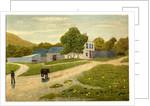 Farmstead Between Corkill's Ballagilley and Ballure Glen by Robert Evans Creer