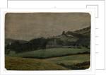 """Ballure Chapel """"From My Bedroom Window"""" by Robert Evans Creer"""