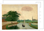 Canal at Linacre, Bootle by Robert Evans Creer