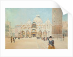 St Mark's Cathedral, Venice by John Miller Nicholson