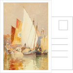 Fishing boats, Venice by John Miller Nicholson