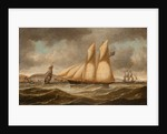 A schooner by Samuel H. Fyfe