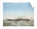 Paddle Steamer 'Snaefell' by Frederick Gill