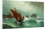 Peel Fishing Boats by John Holland