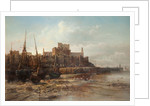Peel Castle and Breakwater by Max Crouse