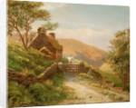 Cottage in Glen Rushen, Patrick by George Goodwin
