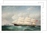 The iron built barque, 'Ramsey' by F. Todgay