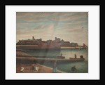 Peel Castle and Harbour by Robert Gell