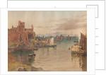 Peel Castle and Pier Head by John Miller Nicholson