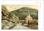 Polish Cottage on the Sulby River by Raymond Dearn