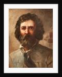 Self-portrait of Franz Hoepfner by Franz Hoepfner