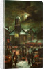Goose Fair, Old St Matthew's Church by Franz Hoepfner
